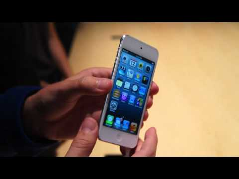 5th generation iPod Touch Hands On | Engadget
