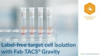 New trend in cell separation: combine benefits of positive & negative cell separation
