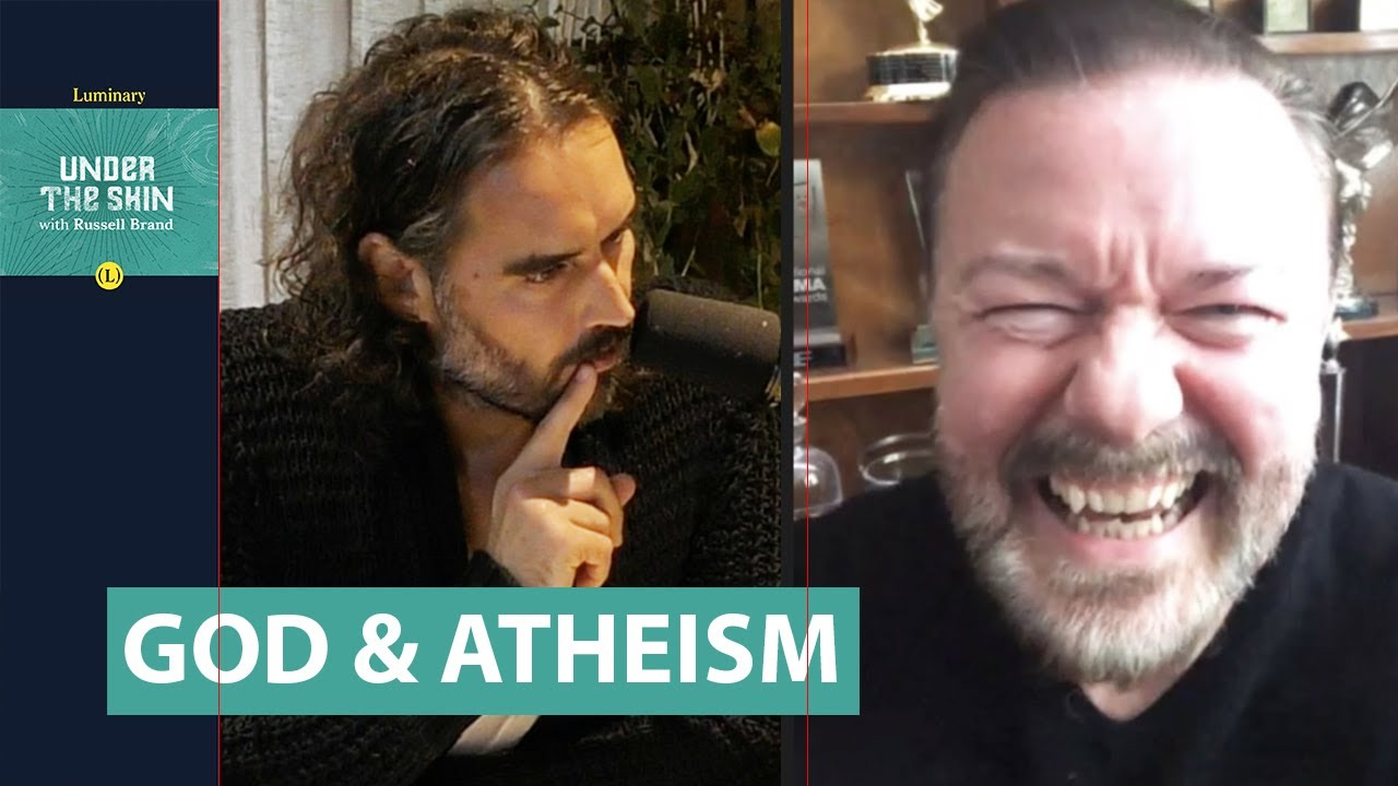 Ricky Gervais & Russell Brand Discuss God & Atheism - YouTube