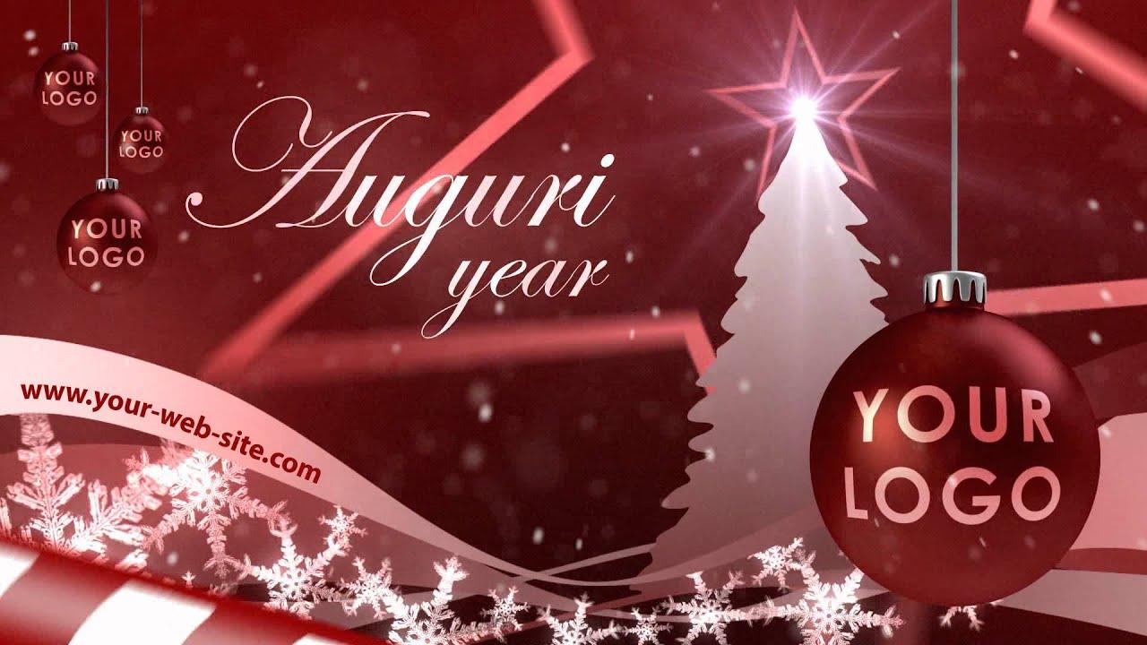 Auguri Di Buon Natale Spirituali.Auguri Personalizzati Di Buone Feste Classici Youtube