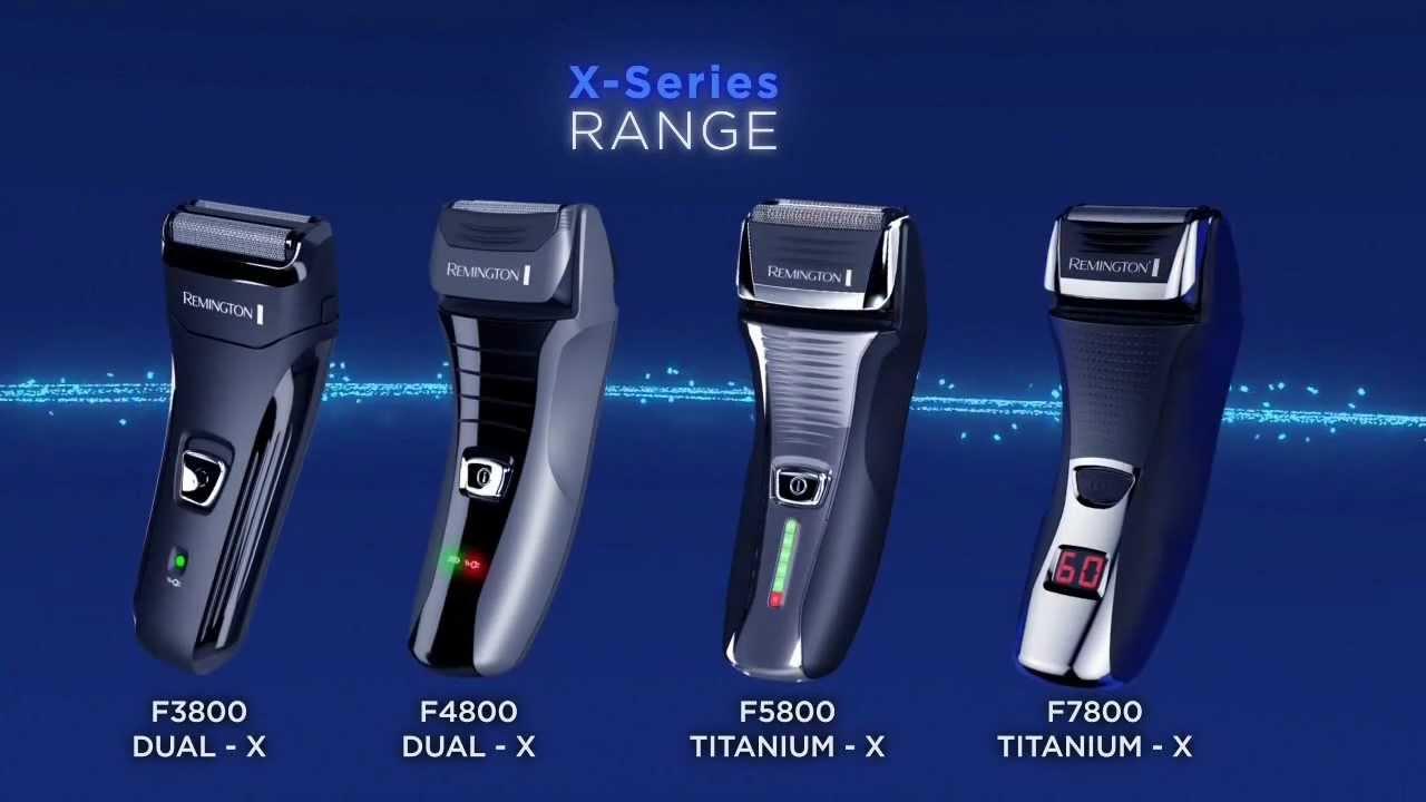 Remington X-Series Foil Shavers - YouTube caca75d307d