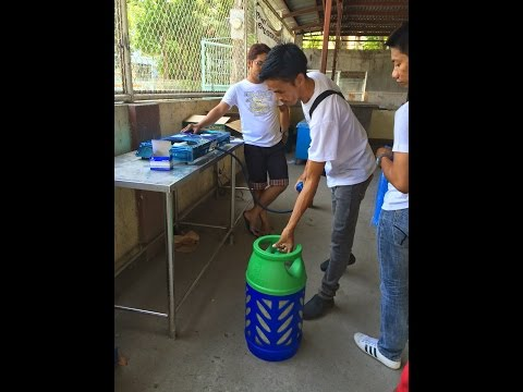 City of Balanga National High School Switch to EC Gas