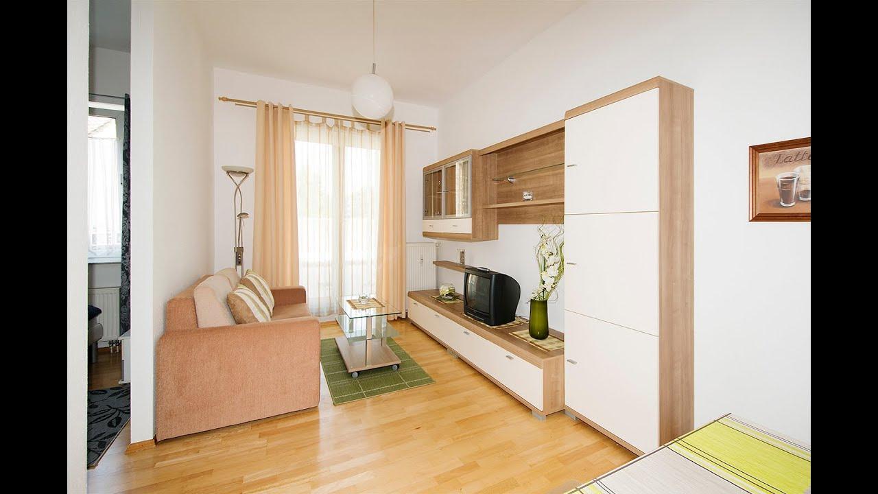 ma 123950 modern m blierte eingerichtete 1 zimmer wohnung in bruehl youtube. Black Bedroom Furniture Sets. Home Design Ideas