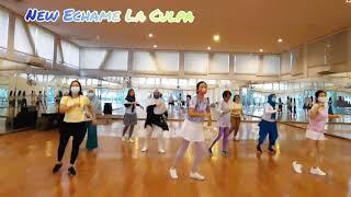 New Echame La Culpa Line Dance (by Roosamekto Mamek)
