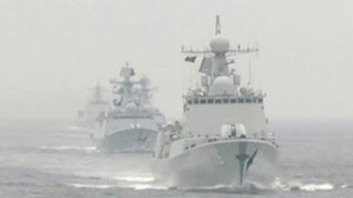 Armada China-Rusia Melakukan Program Pelatihan Gabungan