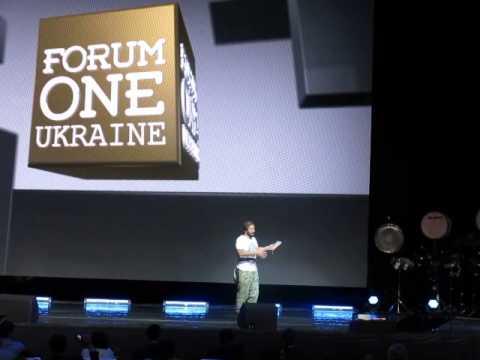 Чичваркин на Forum One про возможности и унитазы