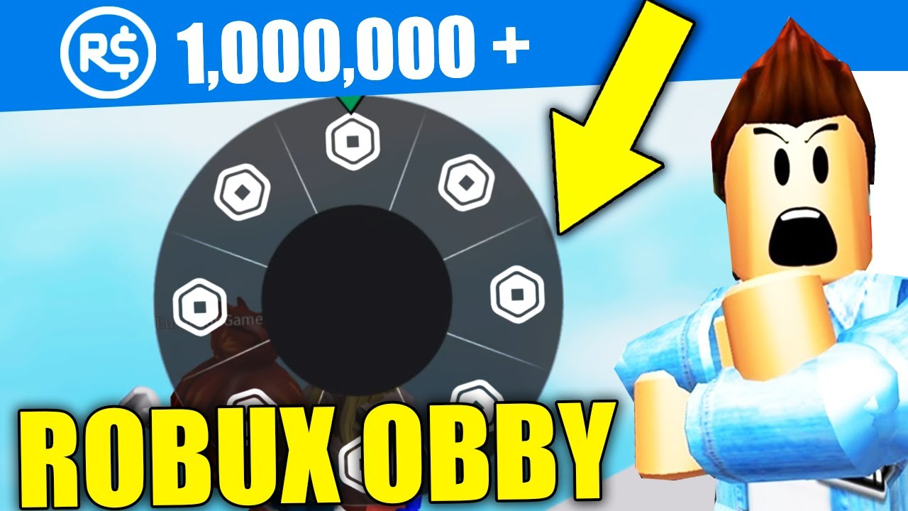 This Roblox Obby Was Giving Free Robux Youtube
