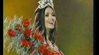 Miss Universe 2002 - Crowning(San Juan, Puerto Rico - May 29, 2002 Denise Quiñones final walk and Miss Universe 2002 Crowning Winner: Russia - Oxana Fedorova 1st Runner Up: ..., 2007-06-05T10:23:15.000Z)