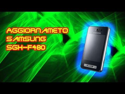 Aggiornameto Samsung SGH-F480