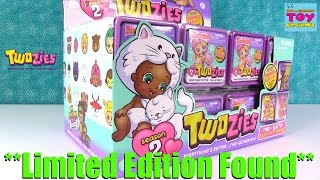 Twozies Season 2 Limited Edition Found Full Box 2 Pack Opening | PSToyReviews