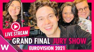 Eurovision 2021: Grand Final Jury Show Livestream
