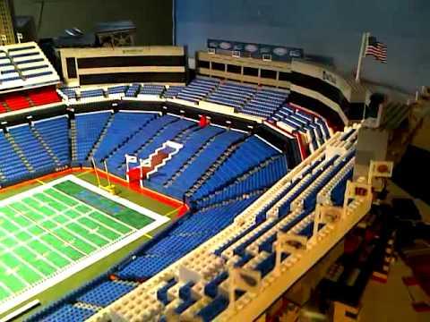 Ralph Wilson Stadium Lego - Video Bills Shout Song