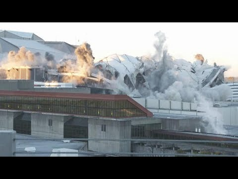 Georgia Dome explosive / How the Georgia Dome implosion was achieved