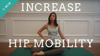 Increase hip mobility