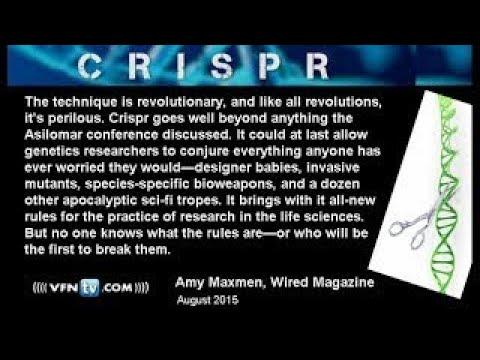 CRISPR Human GMO Gene Altering; A New Invasive Species