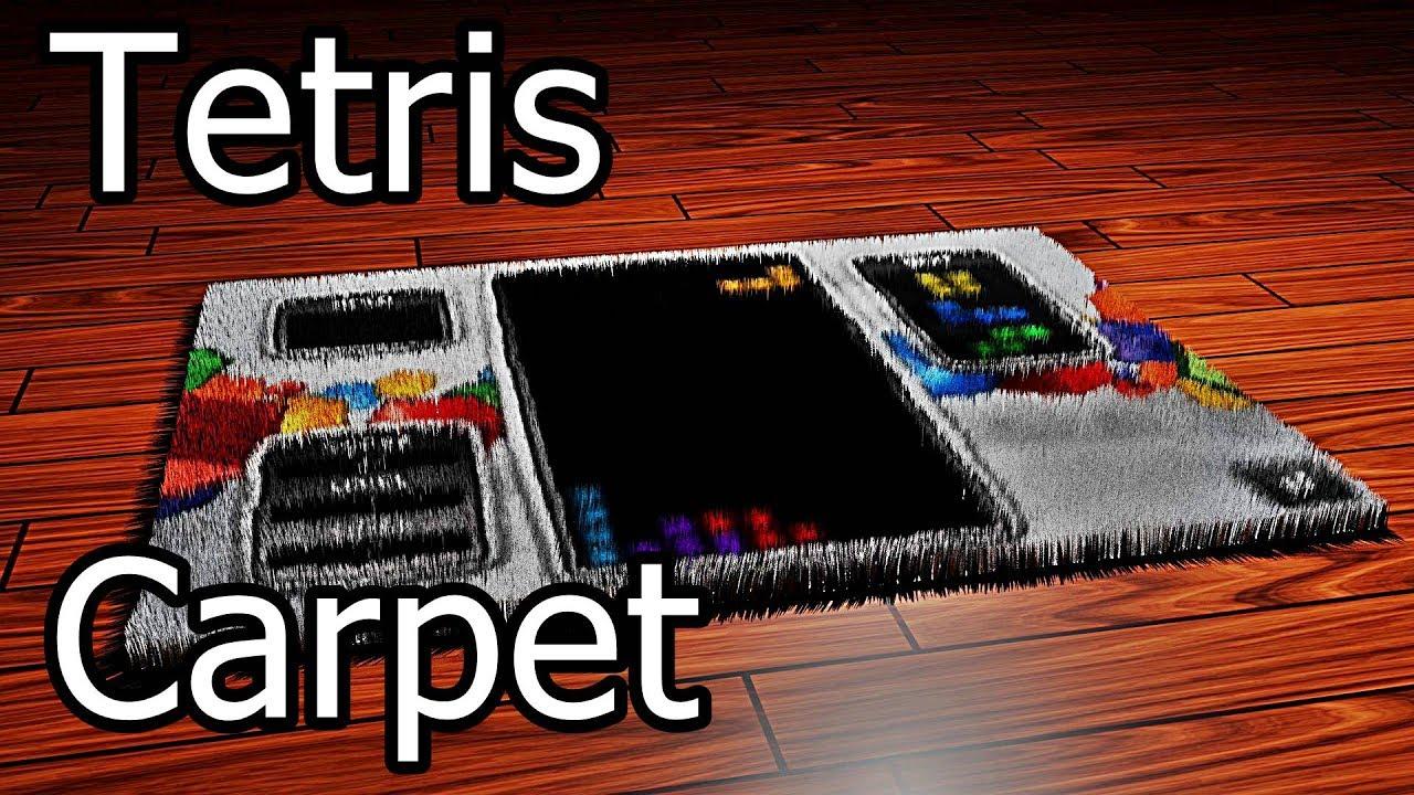 tetris carpet - Tetris Planken