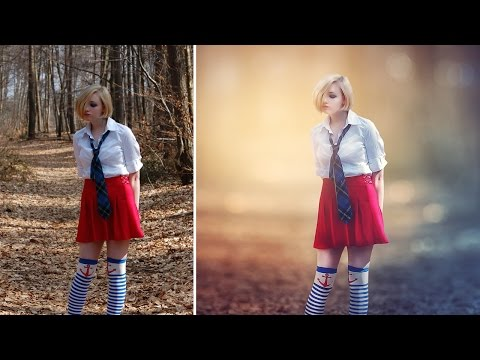 Photoshop CC Tutorial - Fantasy Looks Photo Effect Editing