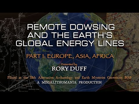 Remote Dowsing and the Earth's Global Energy Lines - Rory Duff - FULL LECTURE