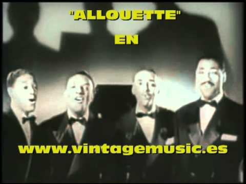ALOUETTE The Delta Rhythm Boys (Original 1958)