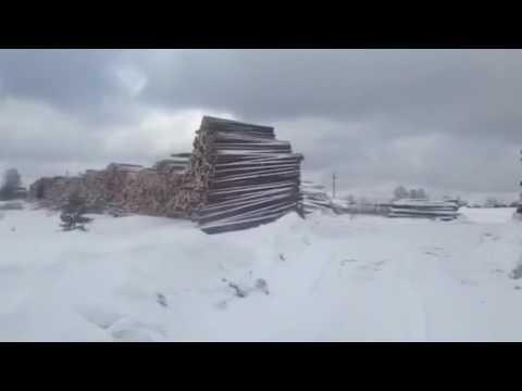 Лесозаготовительная База. Кировская обл, г. Луза