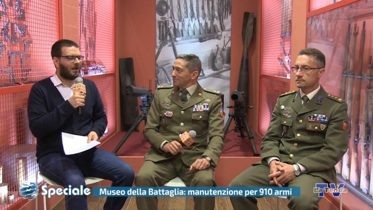 Speciale - Museo della Battaglia: manutenzione per 910 armi