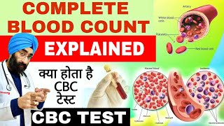 What is CBC TEST   Complete blood Count Explained   Dr.Education (Hindi)
