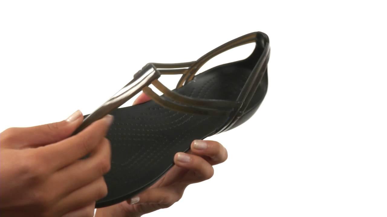 Crocs Sandales Isabella T-strap Obtenir La Dernière Mode c7oqSz