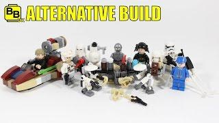 LEGO 2016 STAR WARS ADVENT CALENDAR 75146 ALTERNATIVE BUILDS