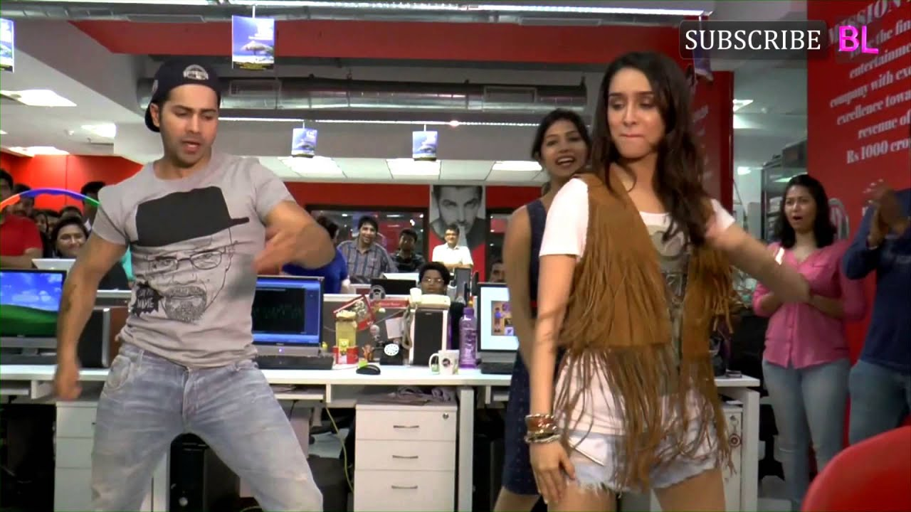 Download Varun Dhawan goes WILD at the music video shoot for ABCD 2