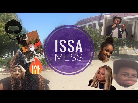 College Vlog @ UB First Week and Issa Mess