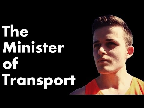 A message from the Minister of Transport
