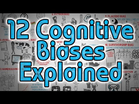 12 Cognitive Biases Explained - How to Think Better and More