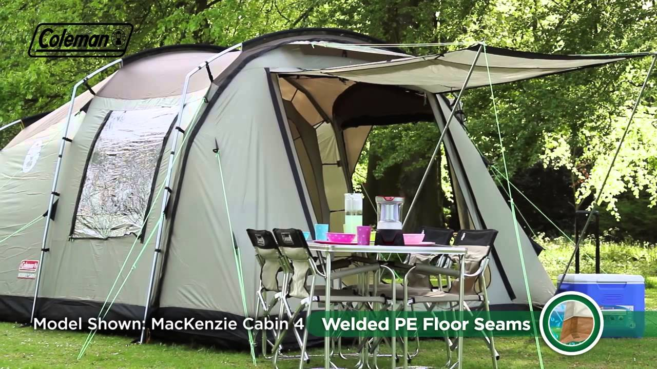 Superieur Coleman® MacKenzie 6 Cabin   Six Person Premium Family Camping Tent    YouTube