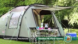 Coleman® MacKenzie 6 Cabin - six person premium family camping tent