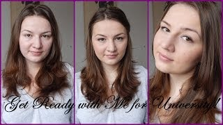 Get Ready with Me for University // Easy Everyday Makeup Thumbnail