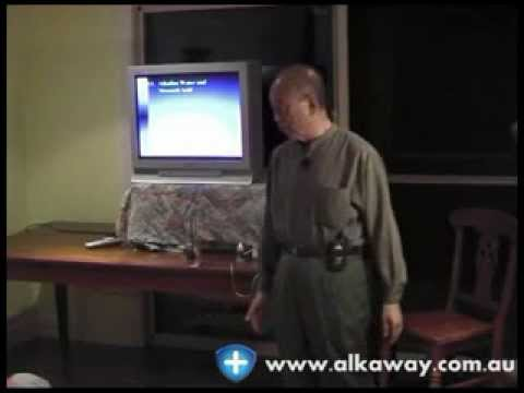 Sang Whang: Alkaline Pioneer talks about water ionizers and the body.