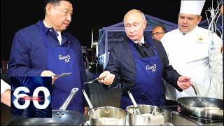 Икра и водка: Путин и Си Цзиньпин готовят во Владивостоке. 60 минут от 11.09.18