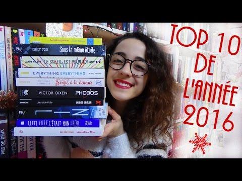 TOP 10 de l'année 2016 ! Mes meilleures lectures ♥