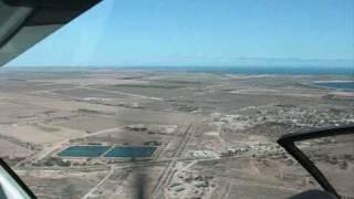 landing at ceduna airport ypjt to ycdu