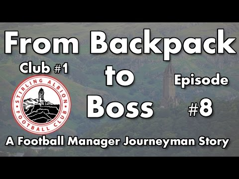 FM17 - From Backpack to Boss - C1 EP8 - Poor Form & Fearing the Board - Football Manager 2017