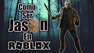 How to dress like Jason Voorhees in Roblox Without spending ROBUX!! [Roblox]