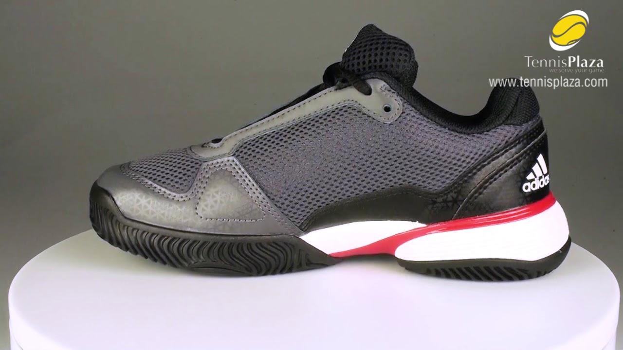 adidas Barricade Club Junior Tennis Shoes 3D View | Tennis Plaza Review
