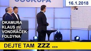 Drahoš je jako Rumburak / Václav Klaus si v Aréně J. S. nebral servítek
