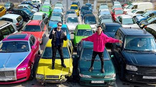 ГОРДЕЙ vs БУЛКИН. Кто больше купит авто за 24 часа? ЧЕЛЛЕНДЖ