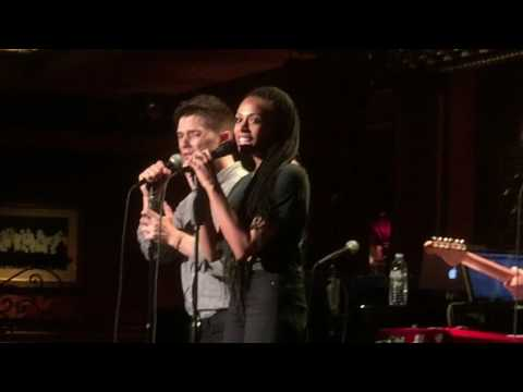 Andy Mientus with Nicolette Robinson @ Feinstein's 54 Below