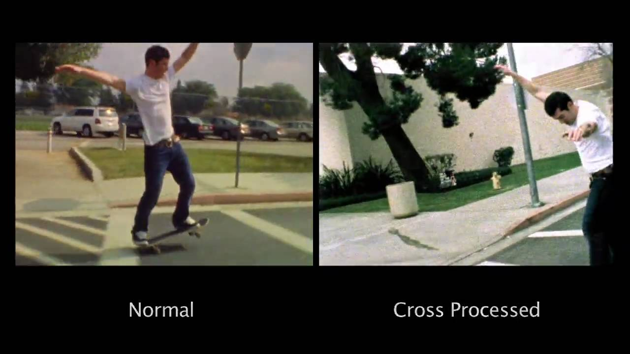 Super 8 Film Cross Process Test