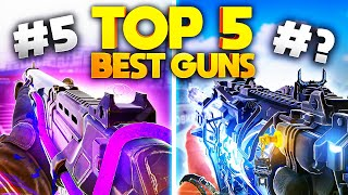 TOP 5 GUNS for SEASON 8 in COD Mobile...