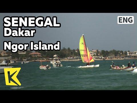 【K】Senegal Travel-Dakar[세네갈 여행-다카르]최고의 해안, 은고르 섬/Ngor Island/Canoe/Resort/Sand Beach/Sea