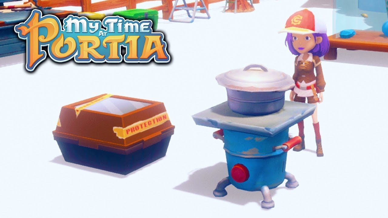 Awesome Cooking Tutorial My Time At Portia Alpha 40 Part 102