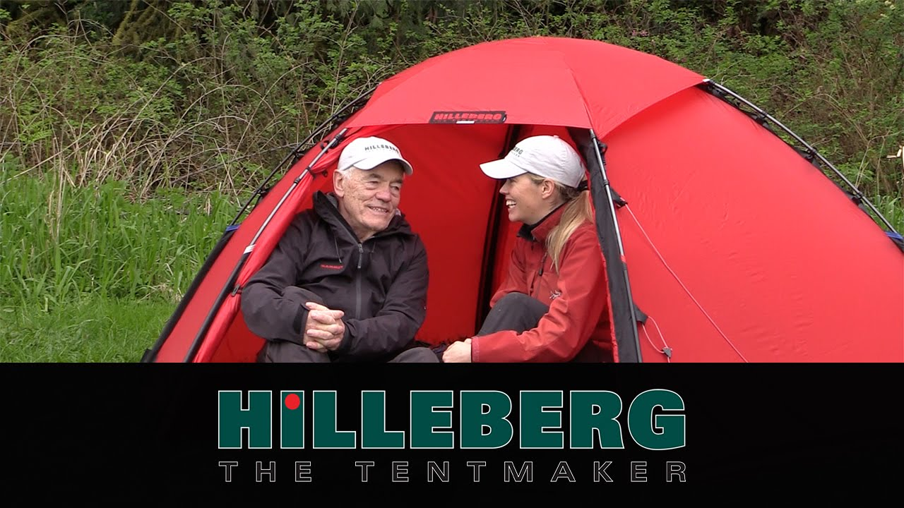 What is the best tent? - Bo and Petra Hilleberg talk tents & What is the best tent? - Bo and Petra Hilleberg talk tents - YouTube